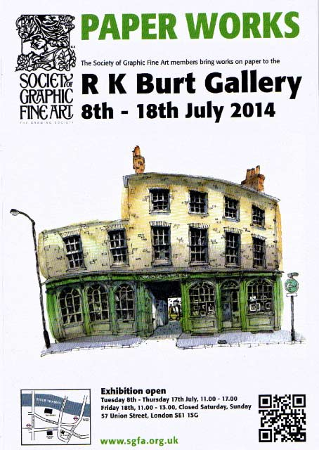 Paper Works 2014 RK Burt Gallery